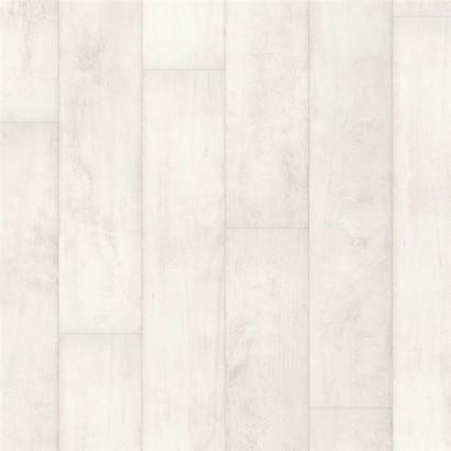 QUICK-STEP Classic fehérített fehér indiai tíkfa deszka laminált padló CLM1290